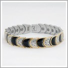 DM-1074T Women's Designer Stainless Steel Bracelet