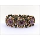 DM-KM-0381A Designer Turquoise Sea Shell Bracelet