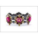 DM-KM-0404 Designer Star Tiara Bracelet